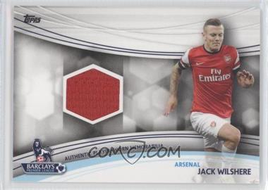 2013 Topps English Premier Gold - Jersey Relics #JR-JW - Jack Wilshere
