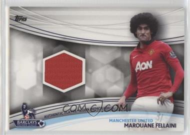2013 Topps English Premier Gold - Jersey Relics #JR-MF - Marouane Fellaini