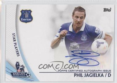 2013 Topps English Premier Gold - Star Players #SP-PJ - Phil Jagielka