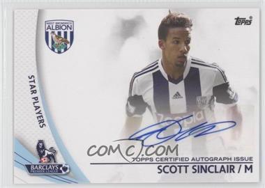 2013 Topps English Premier Gold - Star Players #SP-SS - Scott Sinclair