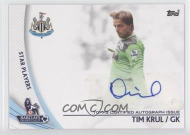 2013 Topps English Premier Gold - Star Players #SP-TK - Tim Krul