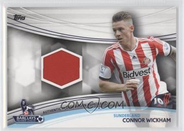 2013 Topps English Premier Gold Jersey Relics #JR-CW - Connor Wickham