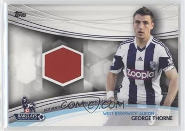 2013 Topps English Premier Gold Jersey Relics #JR-GT - George Thorne
