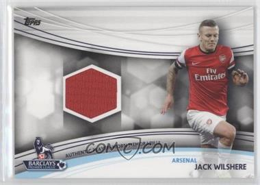 2013 Topps English Premier Gold Jersey Relics #JR-JW - Jack Wilshere