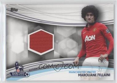 2013 Topps English Premier Gold Jersey Relics #JR-MF - Marouane Fellaini