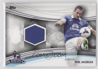 2013 Topps English Premier Gold Jersey Relics #JR-PJ - Phil Jagielka