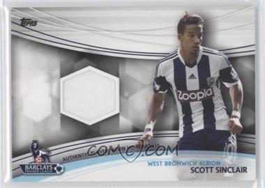 2013 Topps English Premier Gold Jersey Relics #JR-SS - Scott Sinclair