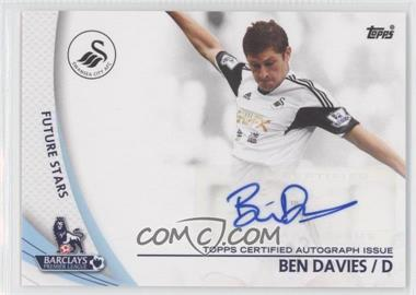2013 Topps English Premier Gold Star Players #SP-BD - Ben Davies