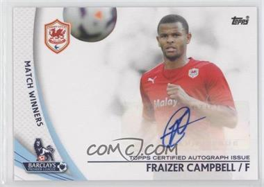 2013 Topps English Premier Gold Star Players #SP-FC - Frazier Campbell