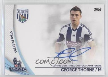 2013 Topps English Premier Gold Star Players #SP-GT - George Thorne