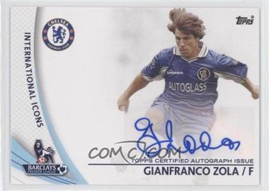 2013 Topps English Premier Gold Star Players #SP-GZ - Gianfranco Zola