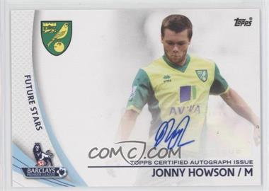 2013 Topps English Premier Gold Star Players #SP-JHO - Jonny Howson
