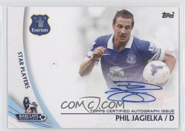 2013 Topps English Premier Gold Star Players #SP-PJ - Phil Jagielka