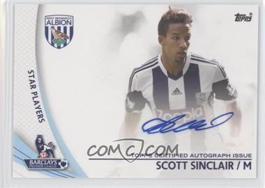 2013 Topps English Premier Gold Star Players #SP-SS - Scott Sinclair