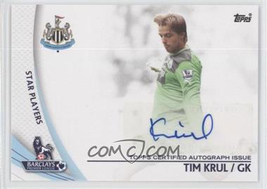 2013 Topps English Premier Gold Star Players #SP-TK - Tim Krul