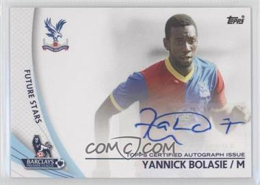 2013 Topps English Premier Gold Star Players #SP-YB - Yannick Bolasie
