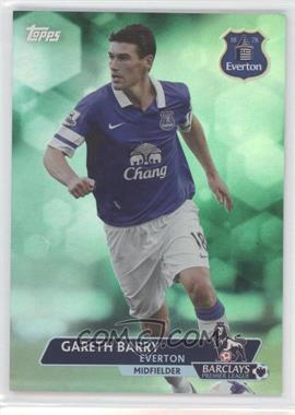 2013 Topps English Premier League - [Base] - Green #128 - Gareth Barry /99