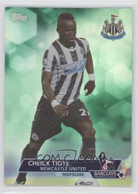 2013 Topps English Premier League - [Base] - Green #157 - Cheick Tiote /99