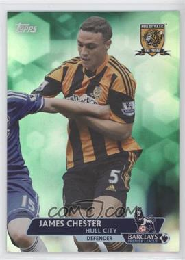 2013 Topps English Premier League - [Base] - Green #36 - James Chester /99