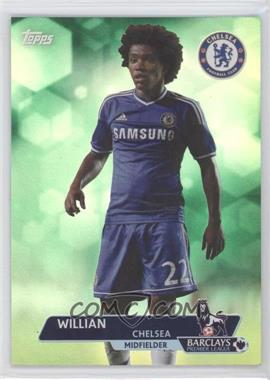 2013 Topps English Premier League Green #117 - Willian /99