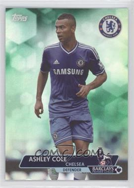 2013 Topps English Premier League Green #119 - Ashley Cole /99