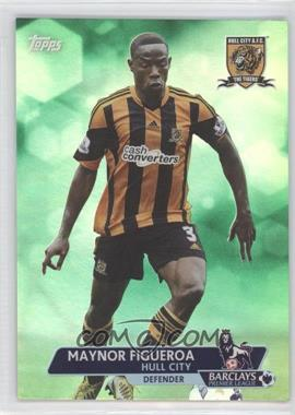 2013 Topps English Premier League Green #136 - Maynor Figueroa /99