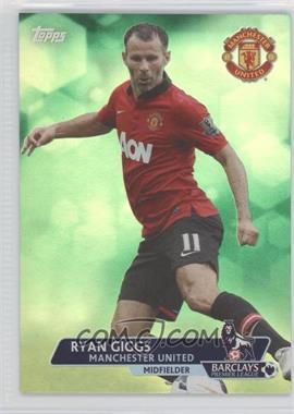 2013 Topps English Premier League Green #152 - Ryan Giggs /99