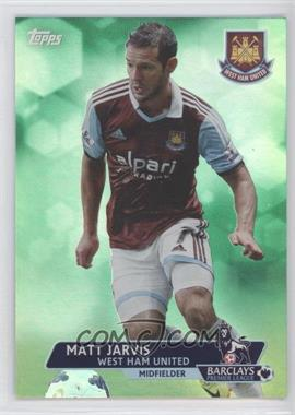 2013 Topps English Premier League Green #199 - Matt Jarvis /99