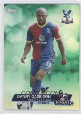 2013 Topps English Premier League Green #22 - Danny Gabbidon /99