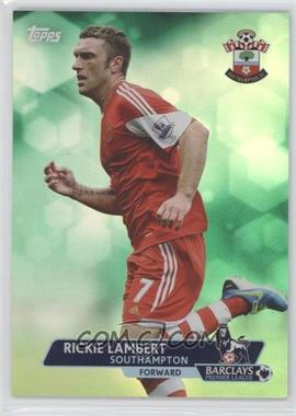 2013 Topps English Premier League Green #70 - Rickie Lambert /99