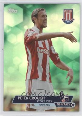 2013 Topps English Premier League Green #75 - Peter Crouch /99