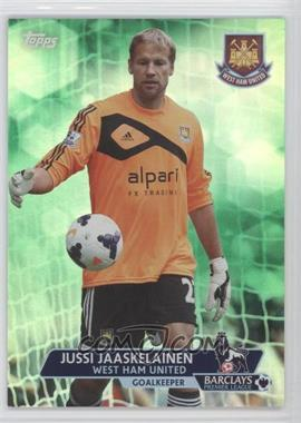 2013 Topps English Premier League Green #96 - Jussi Jaaskelainen /99