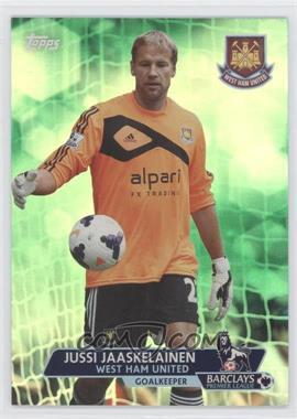 2013 Topps English Premier League Green #96 - Jussi Jaaskelainen /99