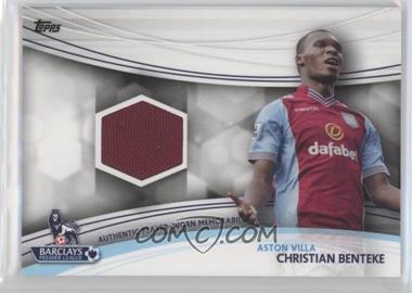 2013 Topps English Premier League Jersey Relics #JR-CB - Christian Benteke