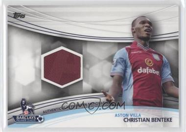 2013 Topps English Premier League Jersey Relics #JR-CB - Christian Benteke