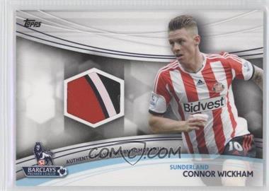 2013 Topps English Premier League Jersey Relics #JR-CW - Connor Wickham