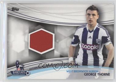 2013 Topps English Premier League Jersey Relics #JR-GT - George Thorne