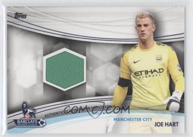 2013 Topps English Premier League Jersey Relics #JR-JHA - Joe Hart
