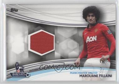 2013 Topps English Premier League Jersey Relics #JR-MF - Marouane Fellaini