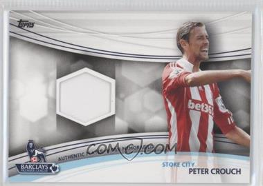 2013 Topps English Premier League Jersey Relics #JR-PC - Peter Crouch