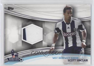 2013 Topps English Premier League Jersey Relics #JR-SS - Scott Sinclair