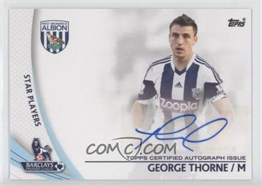 2013 Topps English Premier League Star Players #SP-GT - George Thorne