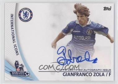 2013 Topps English Premier League Star Players #SP-GZ - Gianfranco Zola