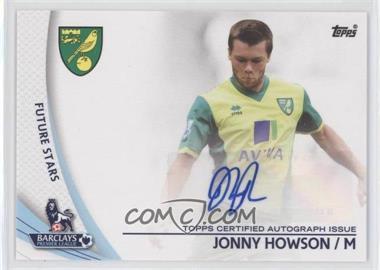 2013 Topps English Premier League Star Players #SP-JHO - Jonny Howson