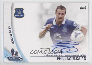 2013 Topps English Premier League Star Players #SP-PJ - Phil Jagielka