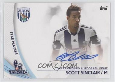 2013 Topps English Premier League Star Players #SP-SS - Scott Sinclair