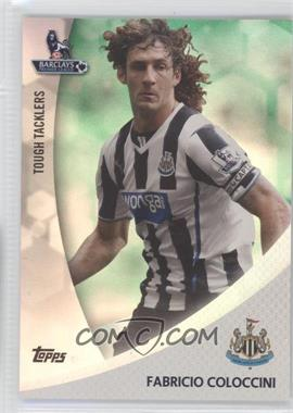 2013 Topps English Premier League Tough Tacklers Green #TT-FC - [Missing] /99