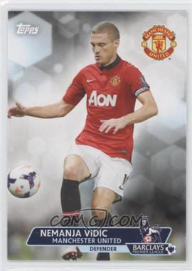 2013 Topps English Premier League #52 - Nemanja Vidic
