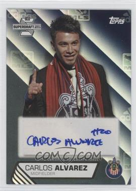 2013 Topps MLS - SuperDraft Autographs - Black #SDA-CA - Carlos Alvarez /10