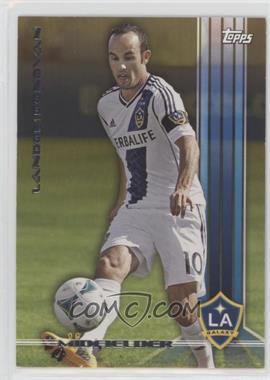 2013 Topps MLS Gold #100 - Landon Donovan /25
